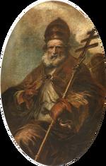 Papa León I Magno (Francisco de Herrara el Mozo)