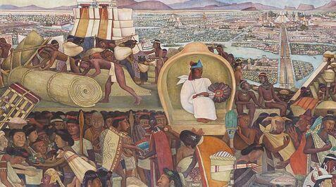 Tarascan homeland painting mdm