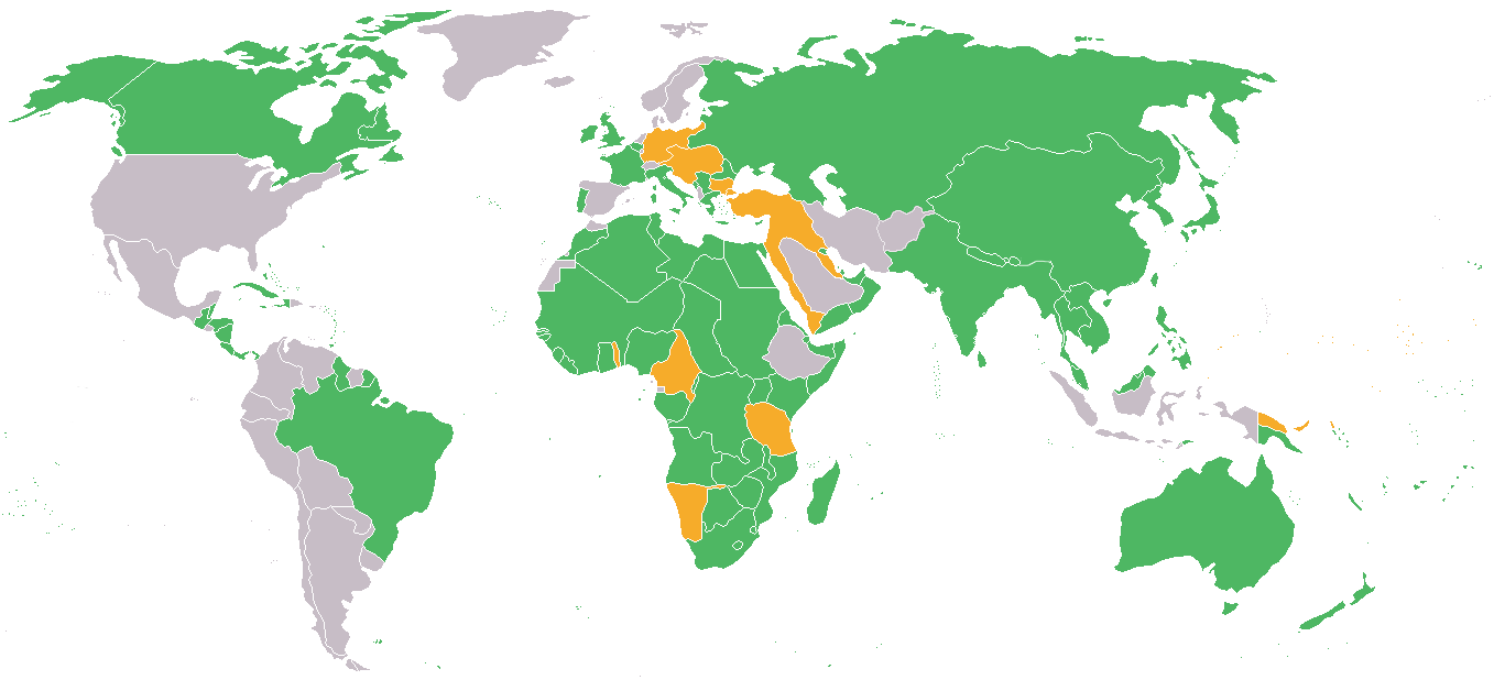 map of the participants in world war i allied powers in green central powers in orange and neutral countries in grey