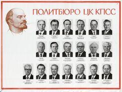 Политбюро Съезд 1986