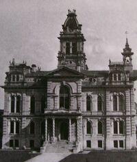 Erie County Ohio Courthouse 1878