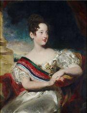 Maria II Portugal 1829
