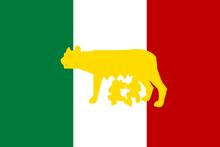 ItalyUltraNationalFlagge