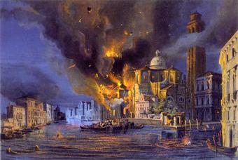 Бомбардировка Венеции