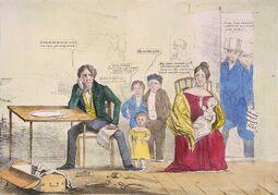 Карикатура американских вигов 1837