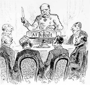 Карикатура на раздел Африки