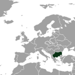 Карта Болгарии(ЕМ)