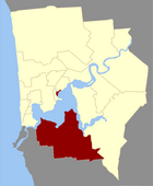 Map of Melville County