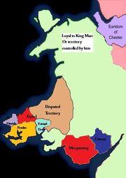 Wales loyal to Marc January 1600