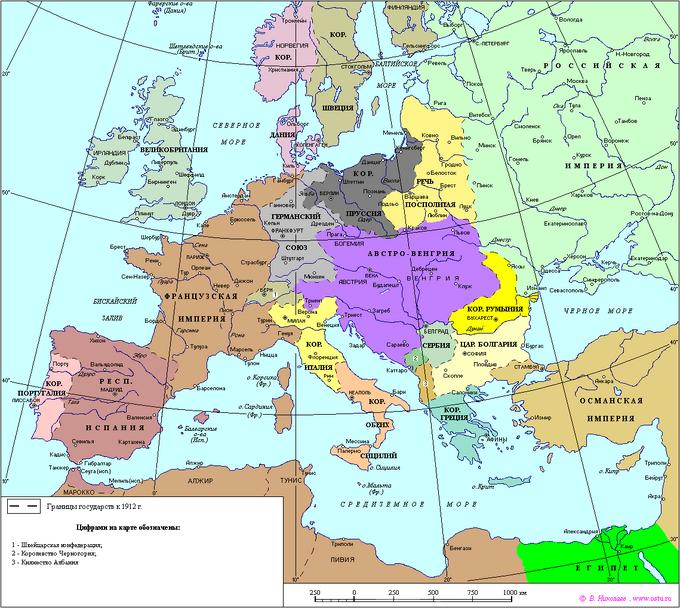 Европа-1912