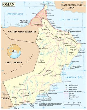 1983DD Oman map