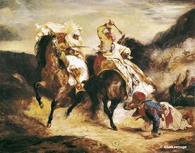 Combat de Giaour et Hassan