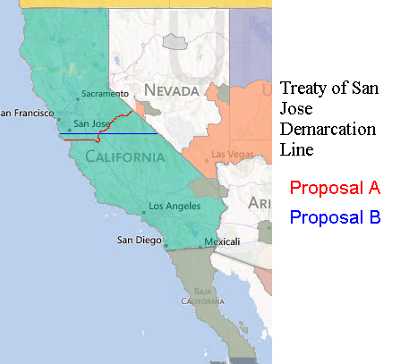 Treaty Of San Jose Night Of The Living Alternate History Map Game