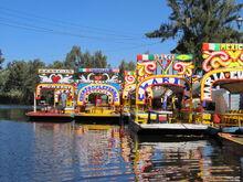 Xochimilco trajineras