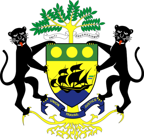 File:Coat of arms of Gabon.png