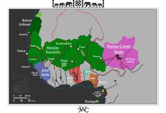 Mali Merveilles Du Monde Map Game Alternative History Fandom