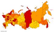 Map of Russia (Russian America)