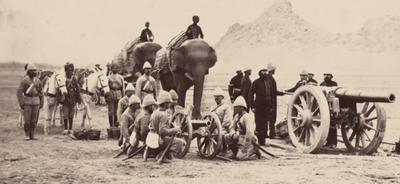 Британская артиллерия в Индии