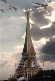 СССР берёт Париж