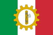 Flag of Trade Union Association of the PNF