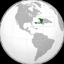 Haiti location