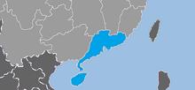 Map of Zhusanjiao GNW