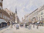 Raimund von Stillfried-Rathenitz Innere Mariahilferstraße 1890s