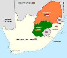 Transvaal y Orange