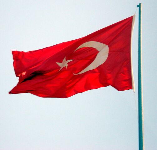 File:TurkishFlagFlying.jpg