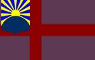 Flag of Vaxholm (Luna Earth II)