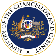 Seal of the Ministry of the Chancellor and Cabinet