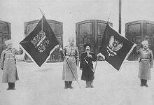 Знамя захваеченное в Анкаре