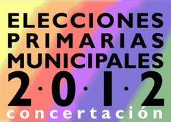 Logo Primarias Municipales Concertación 2012 (CNS)