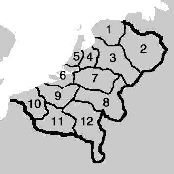 Netherlands Provinces VINW