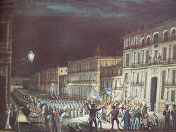 Proclamación Iturbide
