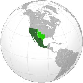 Карта Мексики ЦнС