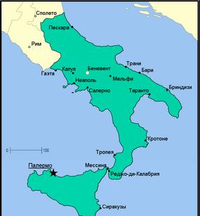 Сицилийское королевство 1800