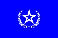 Bandera de la Sociedad de Naciones (Paz de las Naciones)