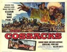 Cossacks movie poster