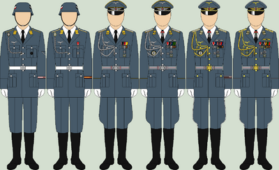 Die luftwaffe ceremonial uniforms2