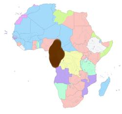 División del África en 1914