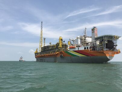 Guyanese oil tanker Liza Destiny Guyana