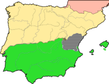 Iberian Peninsula later 13th century
