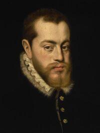 Philip II of Spain by Antonio Moro