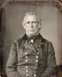 Zachary Taylor half plate daguerreotype c1843-45