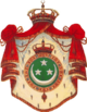 Coats of arms of the Kingdom of Egypt and Sudan
