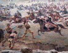 Hungarian warriors