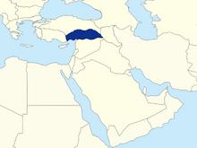 Location of Cilicia (BHGH)