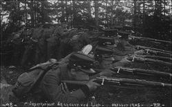 Norwegian soldiers 1905