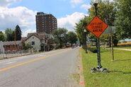Pennsylvania Route 61 and 147 in Sunbury